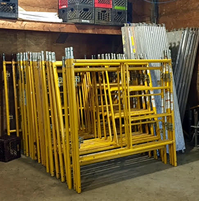 Scaffolding Inventory